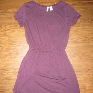 Plum Sundress Dress with Pockets H&M Size